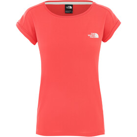 The North Face Tanken Top sin Mangas Mujer, cayenne red/tnf white